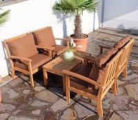 Edles Garten Sofa Set Lounge Gartengarnitur Gartenset ...