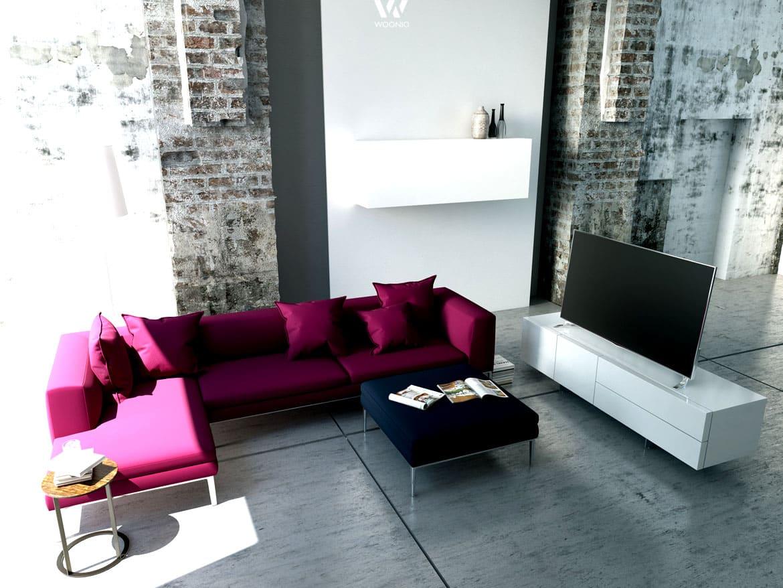 Alt und Neu gemischt in einem Wohnzimmer  Wohnidee by WOONIO