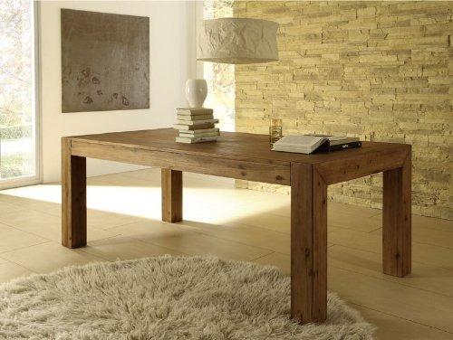 Esstisch Designer Tisch MASSIV ausziehbar 200260x100 cm