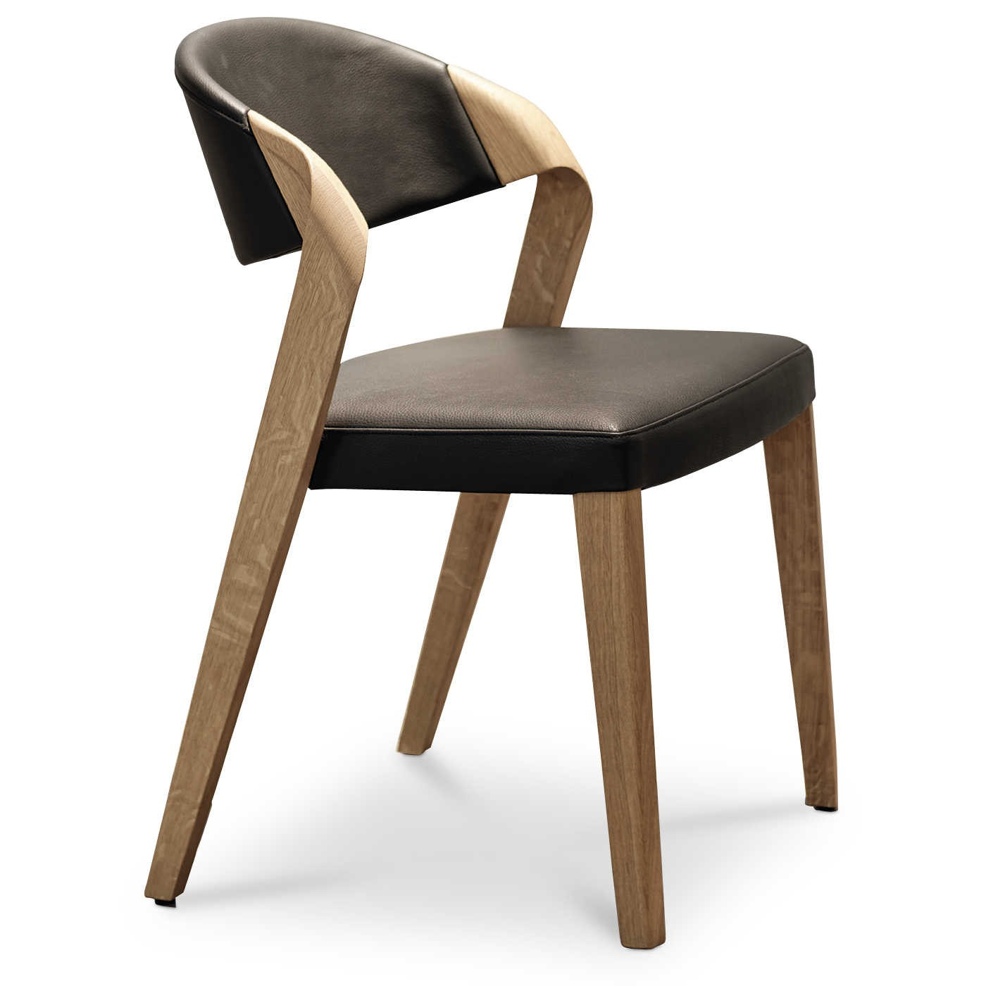 Voglauer Stuhl V Alpin Segp35 Schwarz Leder Online Kaufen