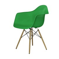 Eames Plastic Armchair Stuhl DAW mit Filzgleitern classic ...