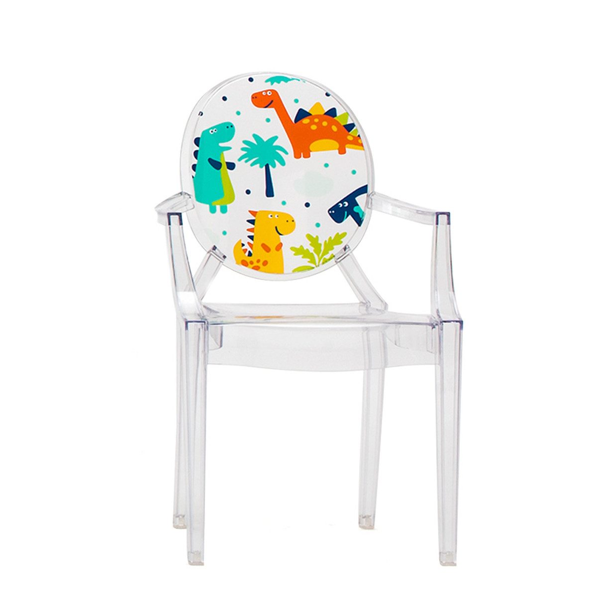 kids ghost chair used stacking chairs kartell lou kinderstuhl transparent