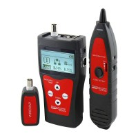 Abitana, Link Length & Wiremap cabling tester for RJ45, RJ11, COAX links with Tone Tracer probe (ABI-TT1008STR)