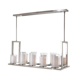 Hanglamp Naila met 14 kandelaren (Zilver)