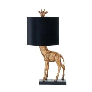 Tafellamp Zaro (Zwart/goud)