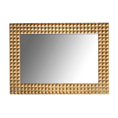 Spiegel Caster gold (Goud)