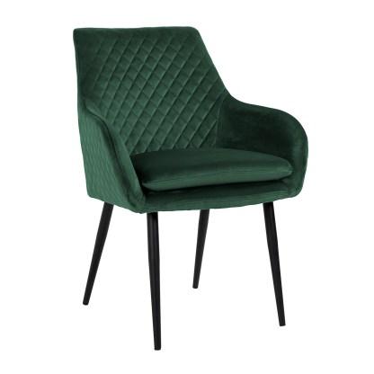 Stoel Chrissy Green Velvet (Quartz Green 501)