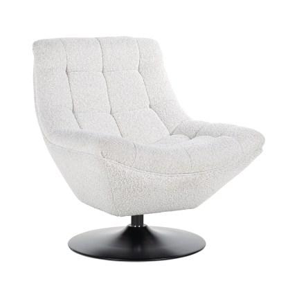 Draaifauteuil  Richelle  white (Copenhagen 900 White)
