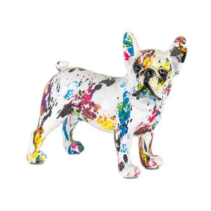 Dog graffity (White)