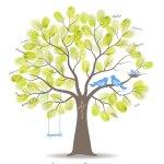 stamboom van vingerafdrukken