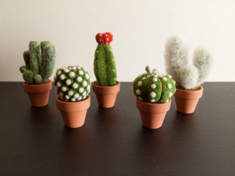 vilten cactussen via etsy