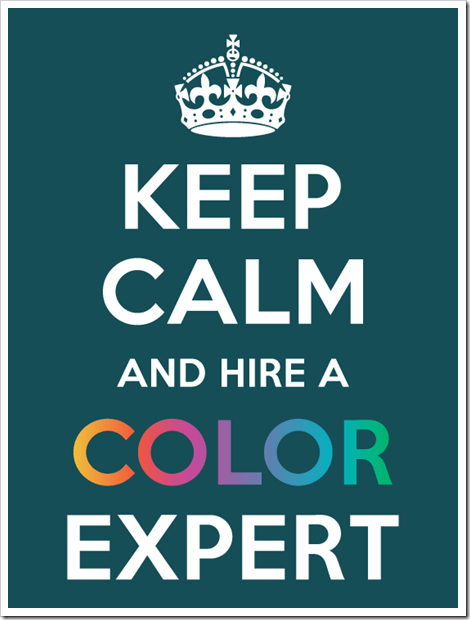 keep calm and hire an... via colormarie