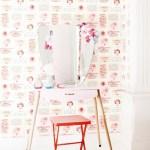 een nieuwe serie behang van studio Ditte