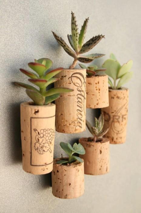 cactus in kurk om zelf te maken via duitang