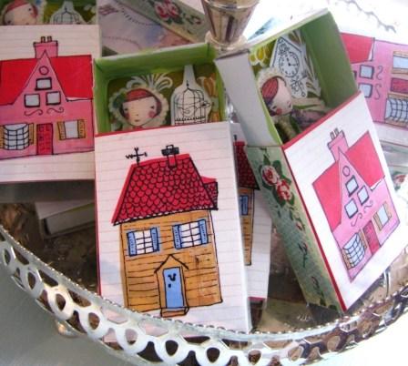 mini dollhouse via etsy