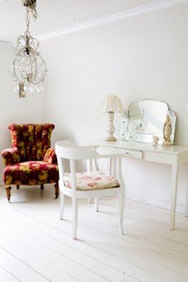 wit interieur van Mari Eriksson