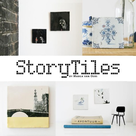 story tiles van Manon Oers