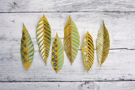 beschilderde blaadjes via fotodesignshelly