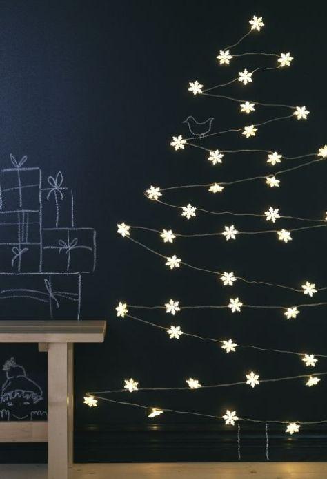 kerstboom met lichtsnoer strala van ikea.