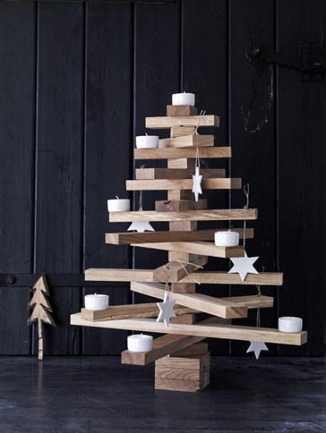 zelf een kerstboom maken via een idee van VT wonen