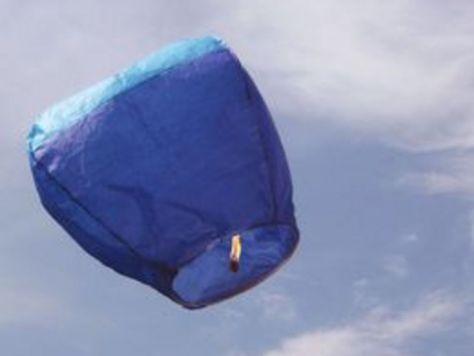 een diy voor een papieren ballon
