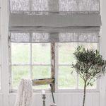 vouwgordijnen voor het raam