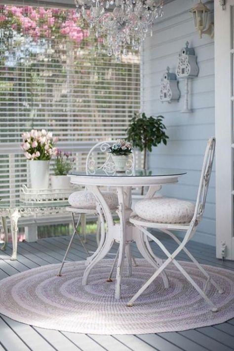 een zomers terras