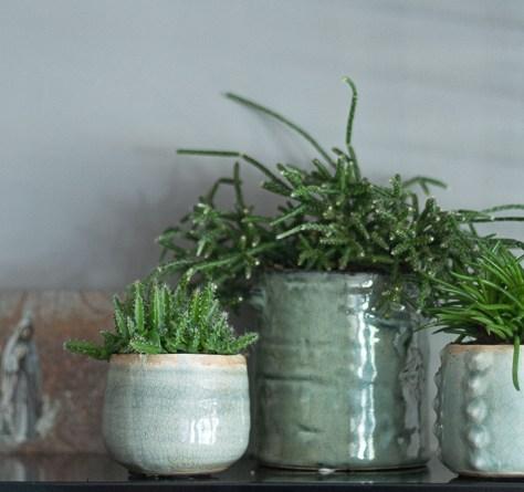element groen in interieur