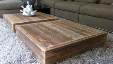 steigerhouten salontafel woonkamer