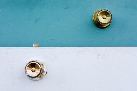 Stijvlolle deurknop