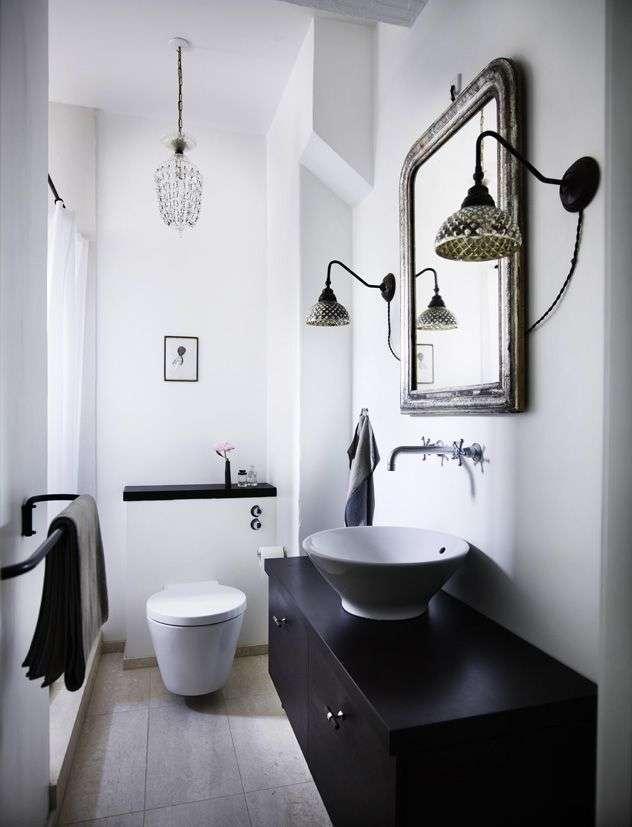 Badkamer zwart wit  Woontrendz