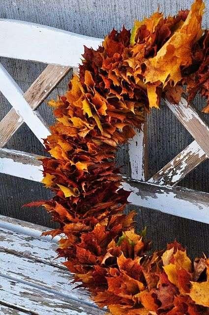 Krans van bladeren  Woontrendz