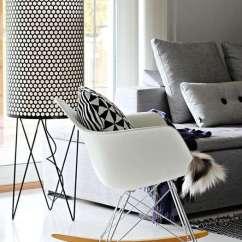Eames Fiberglass Chair Diffrient World Rar - Charles En Ray Schommelstoel