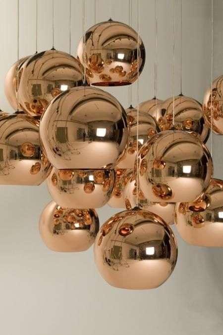 Lamp koper van Tom Dixon  Woontrendz