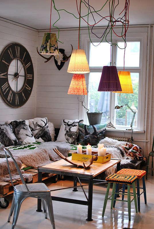 Eclectic interieur woonkamer  Woontrendz