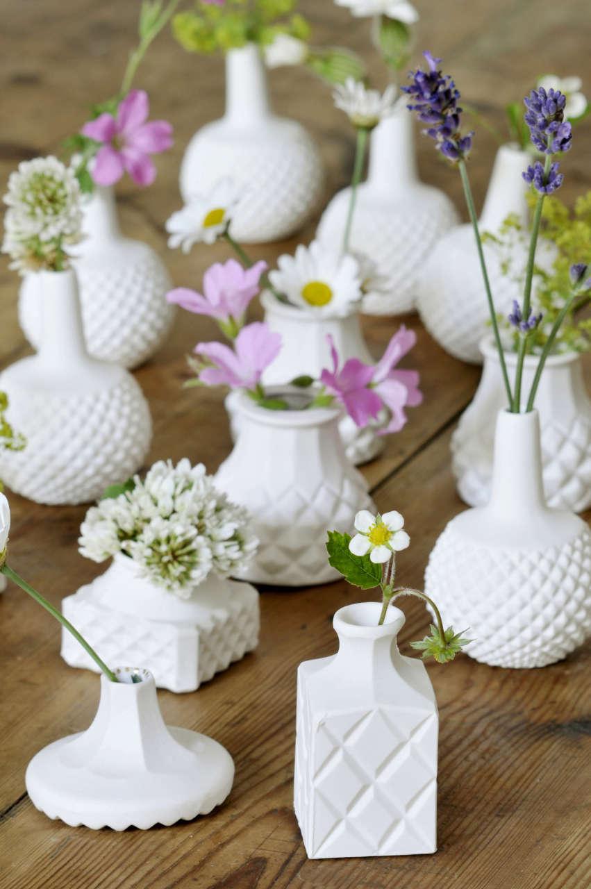 Glazen vazen schilderen  Woontrendz