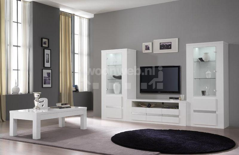 good woonkamer tania white metal with woonkamer set compleet