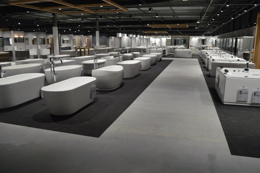 Unieke sanitair  tegels showroom geopend  woonzinnig