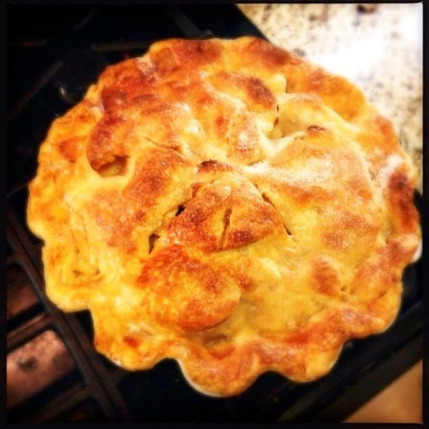 Beautiful apple pie