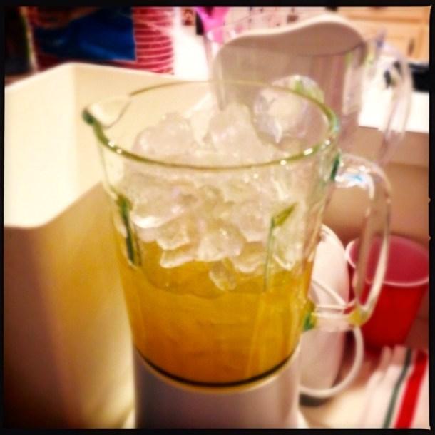 Margaritas, ready to crush