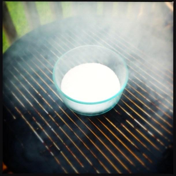 Salt in smoker