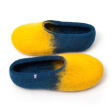 jazz yellow blue - home slippers