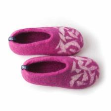 winter slippers for kids BITS fuchsia pink