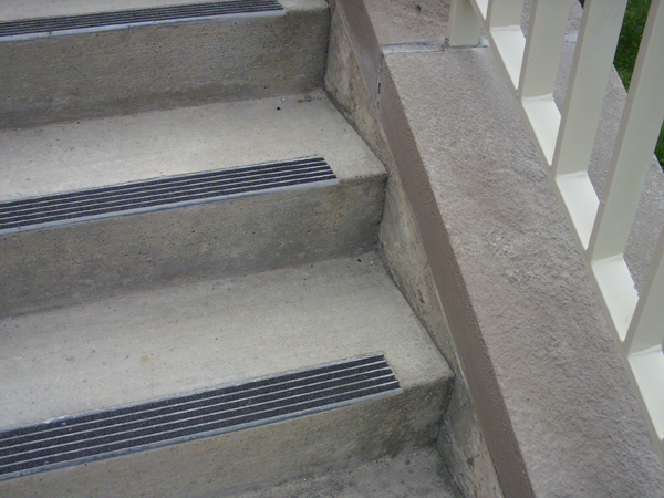 How To Attach Wood Stair Treads To Concrete