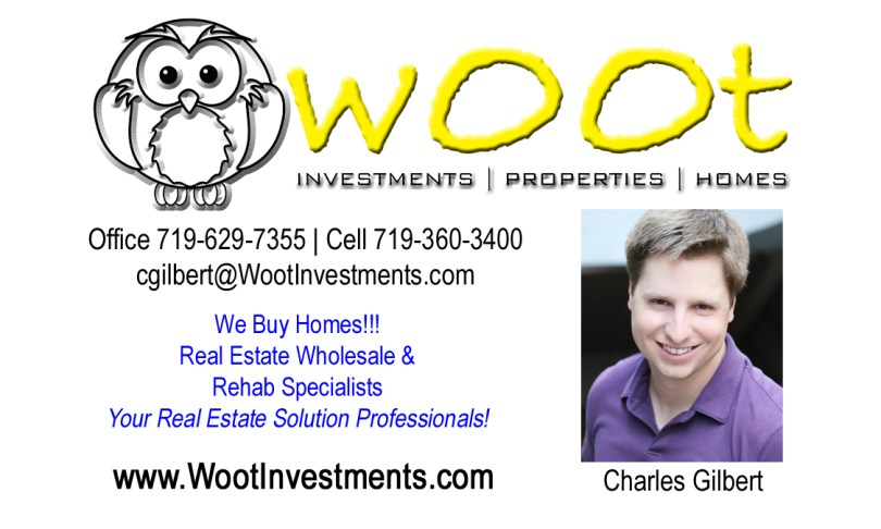 Charles Gilbert - President, Woot Investments, LLC