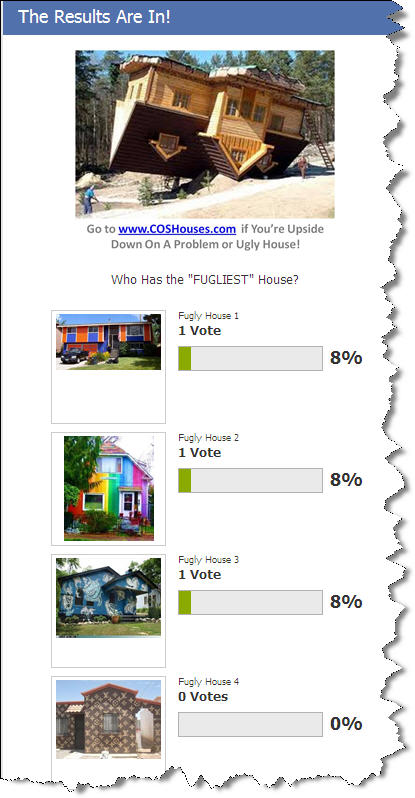 The Fugliest House Poll - Vote for the Ugliest House!