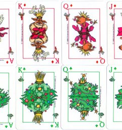 christmas playing cards [ 1200 x 856 Pixel ]