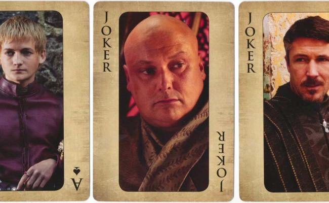 Game Of Thrones The World Of Playing Cards