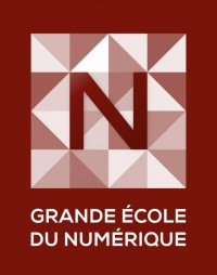 Logo de la Grande école du numérique