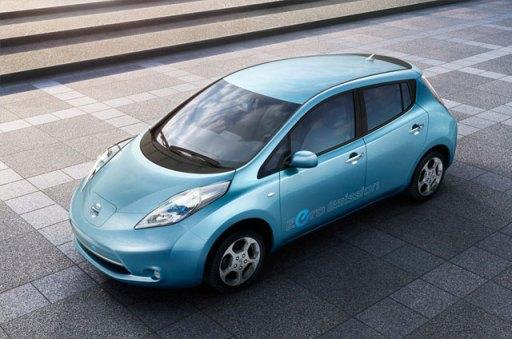Autos eléctricos Nissan Leaf